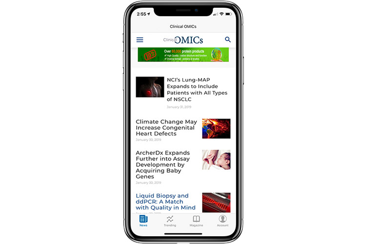 Clinical OMICs App for iOS & Android